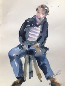 Judy's painting