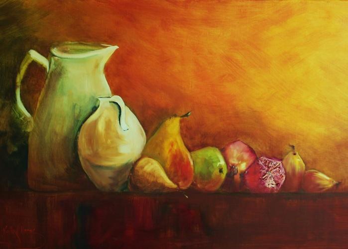 Acrylics Class News from Kathy Karas