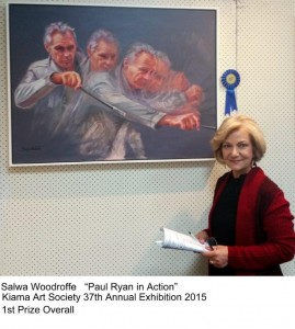Salwa Woodroffe 1st Prize Overall 2015
