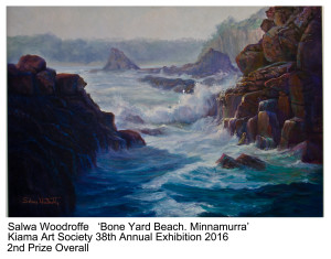 2nd Prize Overall Salwa Woodroffe Kiama Art Society 38th Annual Exhibition 2016
