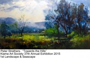 Peter Strathers 1st Landscape  Seascape 2015