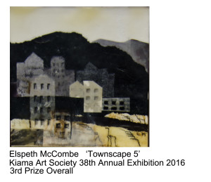 3rd Prize Overall Elspeth McCombe Kiama Art Society 38th Annual Exhibition 2016